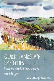the essential guide to sketching the landscape art techniques