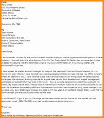 5 assistant retail manager cover letter action plan template