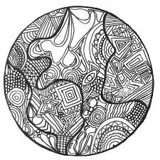 zentangle earth zentangle coloring pages for adults justcolor