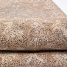 Rug 5x8 Beautiful Traditional Floral Hand Tufted Wool Rug 5x8 Beige Ivory