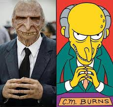 Mr Burns Excellent Meme - cosplay mr burns meme guy