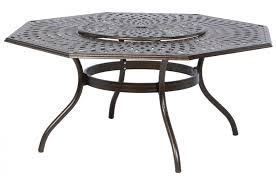 Dining Room Table With Lazy Susan by Kingston Weave 71