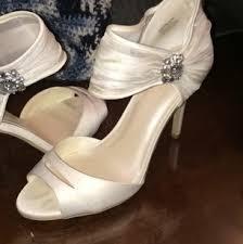 wedding shoes davids bridal david s bridal wedding shoes up to 90 at tradesy