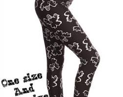 Plus Size Skeleton Leggings Halloween Leggings Etsy