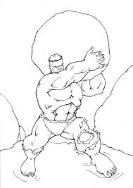 incredible hulk coloring pages free coloring