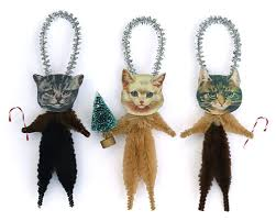 cat ornaments primitive folk by world primitives