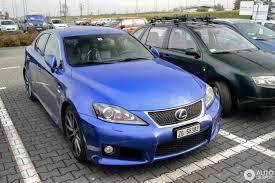 lexus is blue lexus is f 6 november 2016 autogespot
