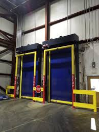 Traffic Doors Turbo Seal Insulated Rytec Turbo Seal Insulated High Speed