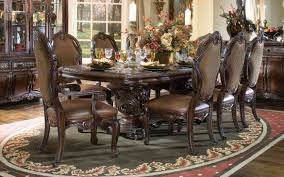dining room table sets leather chairs home design awesome