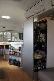 Airstream Custom Interiors House Tour A Modern Airstream Trailer Home Apartment Therapy