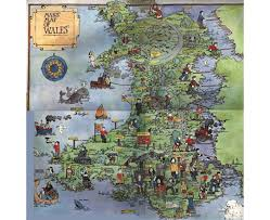 Map Of Wales Maps Of Wales Detailed Map Of Wales In English Political