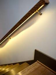 Stair Lighting Lighting For Stairwell Allows The Staircase Incredibly Beautiful