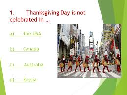 origin of thanksgiving day quiz ppt