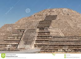Teotihuacan Mexico Map by Teotihuacan Aztec Ruins Near Mexico City Stock Photo Image 31080780