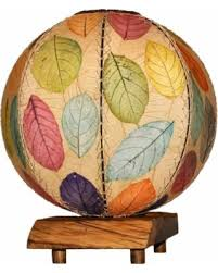 Orb Table L Shopping Special Eangee Driftwood Multi Color Cocoa Leaves