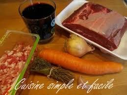 cuisiner du paleron de boeuf paleron de bœuf braisé cuisine simple et facile