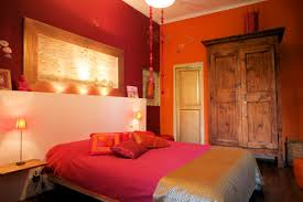 chambre orange et marron deco chambre orange marron visuel 9