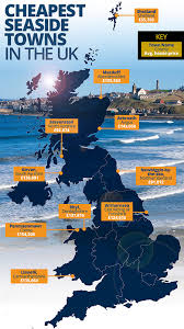 cheapest west coast cities britain s cheapest seaside towns to buy a house revealed