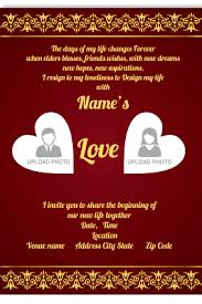 marriage invitation card buy personalized wedding invitation cards home collection online
