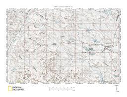 Lone Tree Colorado Map by Milk River Missouri River Drainage Divide Area Landform Origins