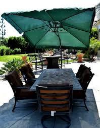 offset hanging patio umbrella square outdoor backyard