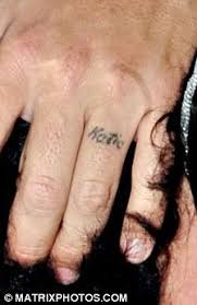 couple name wedding first ring finger tattoo design tattoomagz