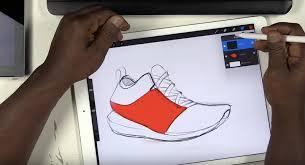 pro create apple pencil ipad pro shoe sketch apple uncovered