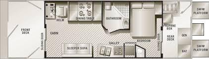 Floating Home Floor Plans Pontoon Houseboat Floor Plans Pontoon House Boat Floor Plan