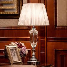 bedroom table lights luxary classic american bedroom table light foyer european crystal