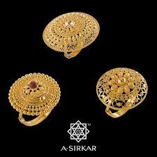 bridal gold ring bengali bengali bodhu jewelry bengali bridal jewelry