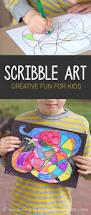 scribble art for kids art activities creative art and activities