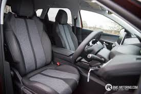peugeot 3008 interior seat peugeot broadens suv lineup with new 3008 rms motoring
