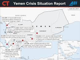 Yemen On World Map by 2017 Yemen Crisis Situation Report August 11 Critical Threats