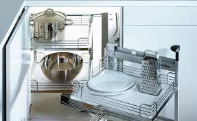 armoire en coin cuisine ensemble magic corner ii pour armoires de cuisine rangement pour