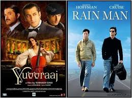 Rain Main - 4 answers what are some of the bollywood movies which are copied