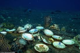 world u0027s biggest ship graveyard tropical waters of south pacific