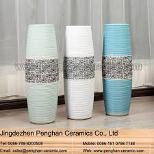 Wholesale Flower Vase Modern Chinese Home Decor Ceramic Wholesale Flower Vase With Holes