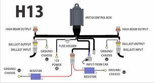 hid wiring diagram with relay wiring diagram