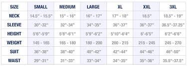 sizes options sizing chart state and liberty clothing company