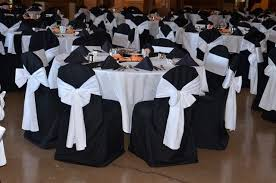 black banquet chair covers black white chair covers zhis me