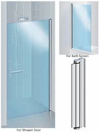aluminium pivot hinge for 6mm glass shower door no drilling