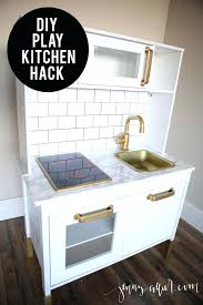 diy play kitchen ideas small cabinet knobs small kitchen best 25 play kitchen ideas on