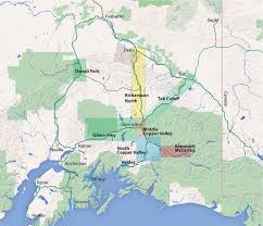 Alaska Road Map by Visit The Copper Valley In Alaska Medical Social Resources