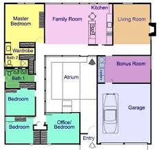 Villa Designs And Floor Plans Best 25 Atrium Homes Ideas On Pinterest Atrium House Architect