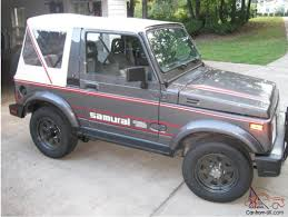 jeep suzuki samurai for sale suzuki samurai special edition 4x4 rare and very few made