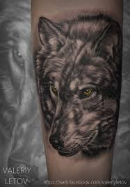 wolf tattoo realism by valeriyletov on deviantart