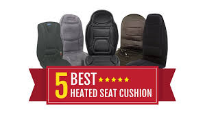 5 best heated seat cushion massaging device