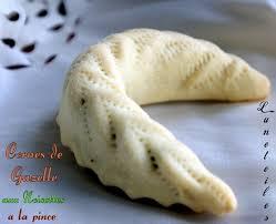 gazelle cuisine gateau algerien corne de gazelle amour de cuisine