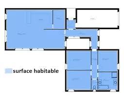 calcul surface utile bureaux comment calculer la surface habitable d une maison calcul avie home