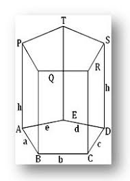 prism right prism volume and surface area of the prism